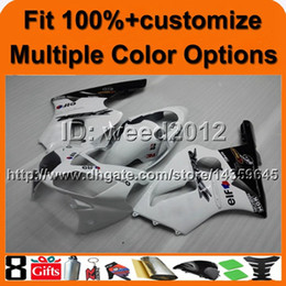 $enCountryForm.capitalKeyWord NZ - 23colors+8Gifts Injection molded Tank cover WHITE ABS article ZX-12R 2002 2003 2004 motorcycle fairing for Kawasaki Ninja