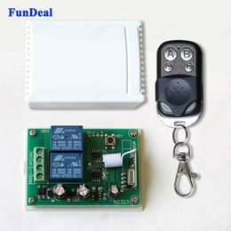 Rf Relay module online shopping - Mhz Universal Wireless Remote Control Switch DC V A CH Relay Receiver Module with RF Transmitter Mhz Remote Controls