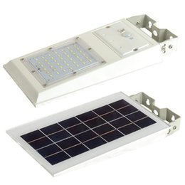 solar powered pir floodlights NZ - 42 LEDs SMD5730 PIR Motion Sensor Outdoor Garden Park 20W Solar Power LED Wall Lamp Light Floodlight