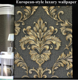 $enCountryForm.capitalKeyWord NZ - European floral 3D PVC wall papers home decor classic roll wallcovering luxury wallpaper for walls 3d wall paper papel de parede