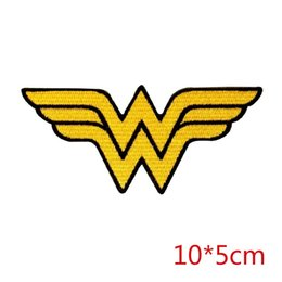 China Wonder Woman logo symbol superhero emblem DC COMICS fabric sewing iron-on patch for Jacket Jeans Clothing Badge suppliers
