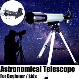 telescope scope NZ - Freeshipping 360 50mm Refractive Monocular Telescope Tripod HD Space Monocular Spotting Scope Telescopes professional