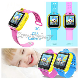 Smartwatch Gps Wifi Camera Canada - New Smart watch Kids Wristwatch Q730 2G GPRS GPS Wifi Locator Tracker Anti-Lost Smartwatch Baby Watch With Rotatable Camera For IOS Android