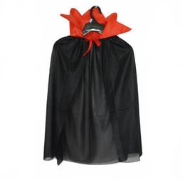 $enCountryForm.capitalKeyWord Australia - Fashion Boys Girls Vampire Witch Devil Cloak Children Cosplay Costume Accessories Halloween Carnival Party Dress Supplies