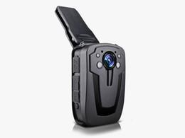 Night Weatherproof Security Camera UK - HD 1080P Police Body Worn IR Night Vision Security Police Camera Body Camera 16GB 32GB