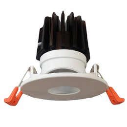 Chinese  Hot Sell Epistar 12W High Lumen COB LED Downlight ADC12 High PF Recessed Ceiling Lamps AC 110-240v Spotlight For Home Decoration and Shops manufacturers