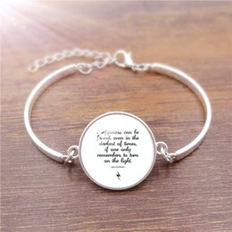 Wholesale Hot Sale Cheap Fashion Jewelry with Silver Plated Glass Cabochon quot Happiness can be found quot Charm Friendship Bracelet Bangle for Women