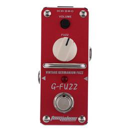 $enCountryForm.capitalKeyWord UK - High quality AROMA AGF-3 G-FUZZ Vintage Germanium Fuzz Guitarra Effect Pedal Mini Analogue guitar pedal board