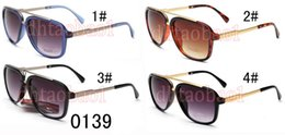 frogs sunglasses 2019 - summer new hot men metal spectacles fashion frog sunglasses women Cycling Sports Outdoor big frame dark Glasses 4 colors