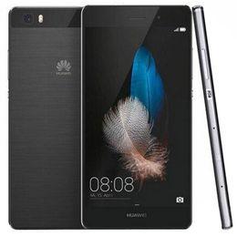 Опт Оригинал Huawei P8 Lite ALE-UL00 4G LTE сотовый телефон Hisilicon Kirin 620 Octa Core 2 ГБ ОЗУ 16 ГБ ПЗУ 5.0 дюймов HD 13.0MP OTG Смарт-сотовый телефон Новый