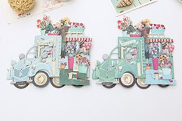 3d pop up handmade cards online shopping - Hot Romantic Paper D Laser Pop Up Greeting Gift Cards Handmade Birthday Cards Postcards Wishes Flower Couple Etiquette Kraft