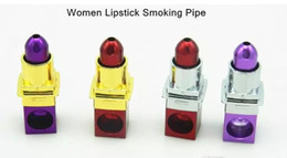 $enCountryForm.capitalKeyWord UK - Lipstick Smoking Pipes ,Glass Bongs Accessories Unique Oil Burner Glass Pipes Water Pipes Glass Pipe Oil Rigs Smoking with Dropper