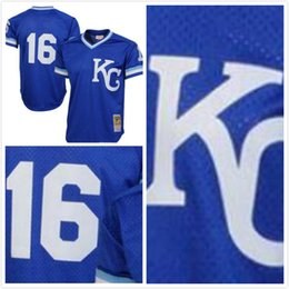 faa25e3d1 ... Mens Kansas City Royals Bo Jackson 16 Mitchell Ness Royal 1989  Authentic Cooperstown Collection Batting Mesh ...