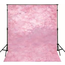 $enCountryForm.capitalKeyWord Canada - Pink Flowers Newborn Baby Photo Shooting Props Wallpaper Vinyl Floral Backdrop Fantasy Photography Backgrounds for Studio