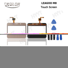 $enCountryForm.capitalKeyWord Canada - Wholesale- LEAGOO M8 Touch Screen Original Touch Panel Perfect Repair Parts for LEAGOO M8 Mobile Phone Digitizer Free Shipping