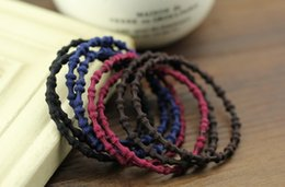 Pony Ties Canada - 2017 Hot Sale Fashion Hair Band Mix Styles Ponytail Holders Elastic Bands Hair Ties Hair Accessories for Women