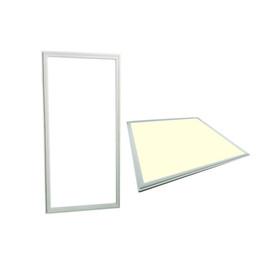 $enCountryForm.capitalKeyWord UK - Silver White Frame LED panel light 36w 48w 72w 80w 300x1200 600x600 2x2 2x4 ft LED flat ceiling panels lights recessed lighting lamps