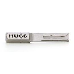 Envío gratis HOT Sale Lock Pick Tools S2 Material HU66 Fuerza fuerte Clave de potencia para VW, Audi Auto Cerrajería Herramientas