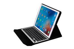 aluminum ipad bluetooth case 2019 - Hot 2017 New For ipad pro 12.9 inch Ultra-Slim Aluminum Bluetooth Keyboard PU Leather plastic stand Case Cover for iPad