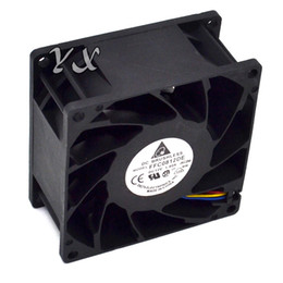 8cm 12v fan UK - New 8038 8CM 12V 1.8A violent winds of dual ball fan FFC0812DE 80*80*38mm