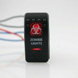 $enCountryForm.capitalKeyWord Australia - Guaranteed 100% IZTOSS Zombie Light 12V SPST Rocker Switch Car Van Dash Boat Marine LED ON-OFF illuminated Free Shipping