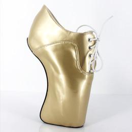 $enCountryForm.capitalKeyWord UK - 2017 Gold Women Pumps Platform Ballet High-heeled Shoes SM Queen Patent Leather Large Size Men's High-heeled Suit Plus Size Shoes Fashion