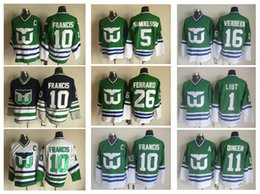 73773cd09 ... Hockey Retro Hartford 2016 Hartford Whalers 10 Ron Francis Jerseys  Stitched 5 Ulf Samuelsson 11 Kevin Dineen 1 Mike Wholesale CCM ...