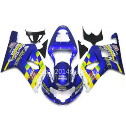 fairings for UK - 5 free gifts New ABS motorcycle Fairing Kits 100% Fit For SUZUKI GSXR600 GSXR750 01 02 03 K1 R600 R750 2001 2002 2003 good nice blue 105