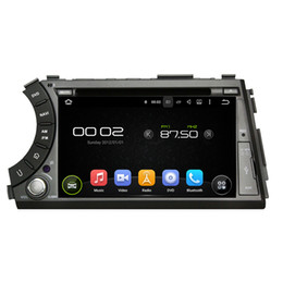 Free wheel sport online shopping - Android Car DVD player for SsangYong Actyon sports with inch HD Screen GPS Steering Wheel Control Bluetooth Radio