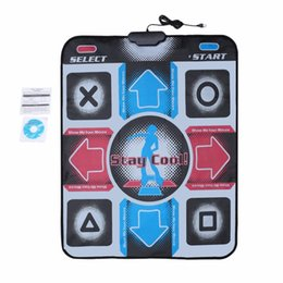Dance Mats Canada - HD Non-Slip Dancing Step Dance Mat Pad Pads Dancer Blanket Fitness Equipment Revolution Foot Print Mat to PC with USB
