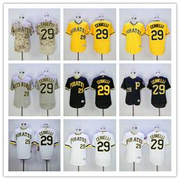 3e43dd18135 ... Francisco Cervelli Jersey Pittsburgh Pirates 29 Flexbase Coolbase  Baseball Jersey White Yellow Black Camo Grey Hot ...