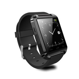 Wholesale U8 Smart Watch Wrist Watches Bluetooth Smartwatch Anti lost inch for iPhone Samsung Cell Phones Andriod and IOS system