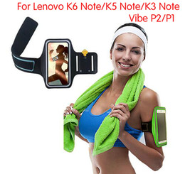 2018 band cases Wholesale- Waterproof Sport Arm Band Case For Lenovo Vibe P2 P1 Running Workout Gym Case Cover Pouch For Lenovo K6 Note K5 Note Sport Case discount band cases