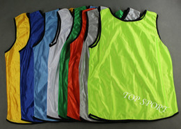 $enCountryForm.capitalKeyWord Canada - 10pcs lot Adult's Blank Soccer Group Against Bibs Sports Training Against Vests Many Colors Soccer Shirts Sports Games Group Against Vests