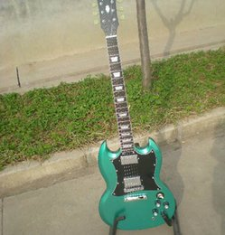 pictures personal Australia - free shipping Personal Tailor light blue silver powder Electric guitars have Rosewood Fingerboard Can send pictures customization