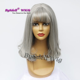 $enCountryForm.capitalKeyWord Canada - kawaii Harajuku Grey Color Wig Cheap Air Volume Curl Cut Short Hair African American South Korea Cute Style Girl Halloween Cosplay Wig