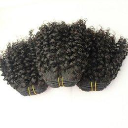 Afro Kinky Hair Shipping Australia - Brazilian Kinky Curly Hair 3Bundle Deals Brazilian Curly Hair Afro Kinky Curly Human Hair weaves fast shipping