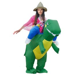 Blowup T Rex Cosplay Inflatable Dinosaur Msscot Costume Halloween Party Fancy Dress Costume Airblow Animal Dinosaur Costume For Adults  sc 1 st  DHgate.com & Inflatable Dinosaur Costume Canada   Best Selling Inflatable ...