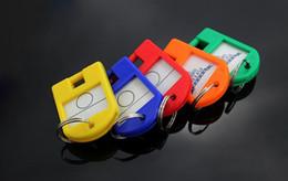 $enCountryForm.capitalKeyWord Canada - Creative colored plastic keychain storage warehouse dormitory classification card key card key card number plate collection