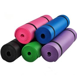 10mm thick exercise yoga mat pad nonslip lose weight exercise fitness folding gymnastics mat for fitness outdoor mats