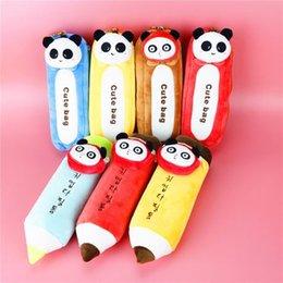 Ingrosso Creativo cartone animato panda sacchetto del telefono cellulare sacchetto cosmetico giocattolo farcito Sichuan Chengdu souvenir souvenir regalo per andare all'estero