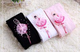 $enCountryForm.capitalKeyWord Canada - New Ballet Girls Pantyhose cotton cute Knit princess Children Socks best kids Tights baby stockings Toddler leggings Girls Clothes A857