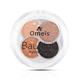 Barato Flash De Sombra De Olho-Atacado - 4Colors <b>Eye Shadow Flash</b> Powder Profissional Shimmer Shadow Shadow Brilhante Glitter Powder Nude Diamond Makeup