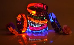 Discount lighted breakaway dog collar - LED luminous pet collar collar light camouflage dog collar pet collars durable