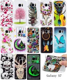 Discount cases for s6 edge plus - Glow in dark Flower Owl TPU Soft Case For Samsung Galaxy S9 PLUS S6 S7 Edge S5 A310 A510 G530 J310 J510 J710 J5 J7 Lumin