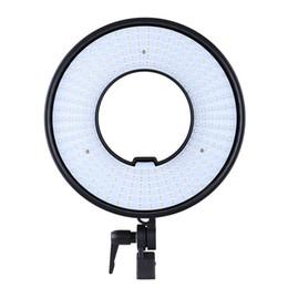 Video ring online shopping - DVR DVC Photo Studio Ring LED Video Light Lamp Panel CRI Color Temperature K K Adjustable Photography Lighting