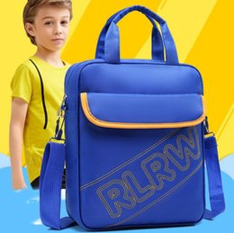 Barato Almoços De Bolsas Escolares-2017 School chilrdren Handbag Student School Bag Bolsa de almoço Box School Crossbody Bolsa de livro Remediation Tote Bag