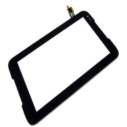 tablet digitizer 7inch Canada - 50PCS Touch Screen Digitizer Replacement for Lenovo A1000 7inch Tablet Touch Panel Black free DHL
