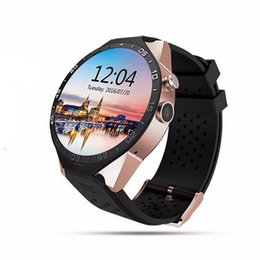Wifi Google Maps Canada - KW88 WiFi Smart Watch Android 5.1 OS MTK6580 Quad Core Smartwatch Phone Google Map 3G SIM APP Heart Rate Monitoring GPS Watches