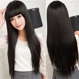 $enCountryForm.capitalKeyWord NZ - Human Hair Complete Black Women Glueless Wig Cordon Ombre Brazilian Virgin Hair 100% Color black #1B Full Lace Wig Top Silk Weaving KABELL